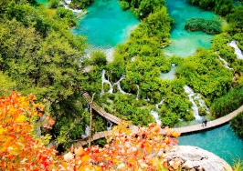 Любляна - езерото Блед - Постойна яма – Плитвички езера - Загреб